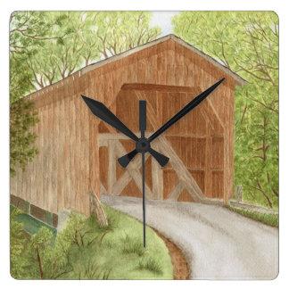 Covered Bridge - Clock