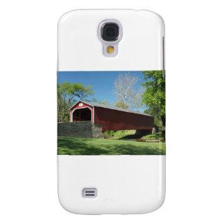 Covered Bridge in Pennsylvania Galaxy S4 Case