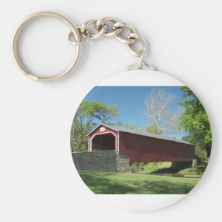 Covered Bridge in Pennsylvania Key Ring