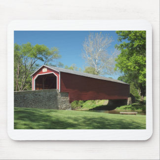 Covered Bridge in Pennsylvania Mouse Pads