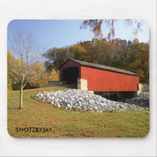 Covered Bridge Mouse Mat