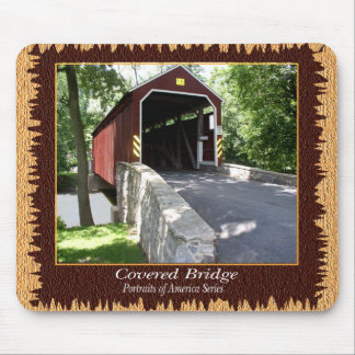 Covered Bridge Mouspad Mouse Pads