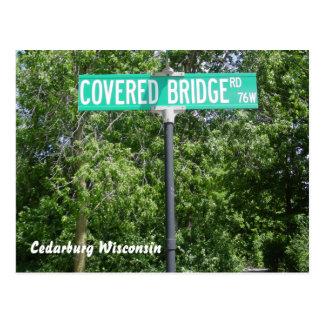 Covered Bridge Park Postcard