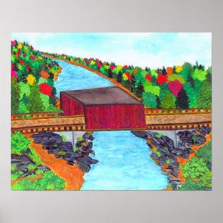 covered bridge posters