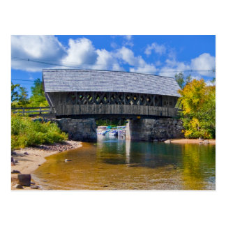 Covered Bridge | Squam River Bridge, Ashland, NH Postcard