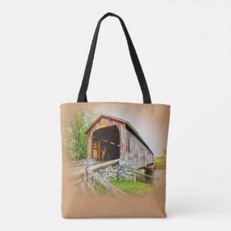 Covered Bridge -- Tote With Class
