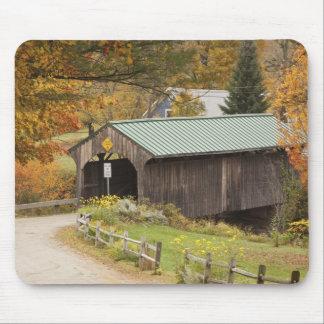 Covered bridge, Vermont, USA Mouse Mat
