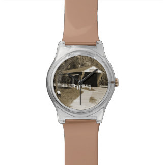 Covered Bridge Wristwatch
