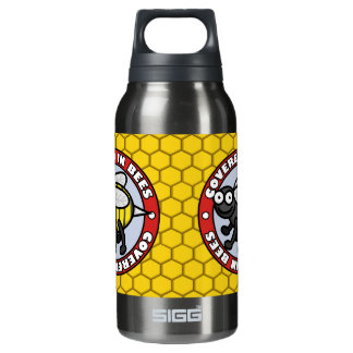 Covered in Bees 2 10 Oz Insulated SIGG Thermos Water Bottle