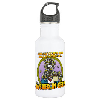 Covered in Bees 532 Ml Water Bottle