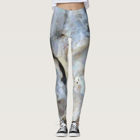 """Covered in Coral"" Patterned Leggings"