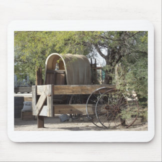 Covered Wagon Mouse Pad
