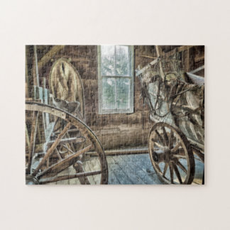 Covered wagon, wooden wagon wheel puzzles