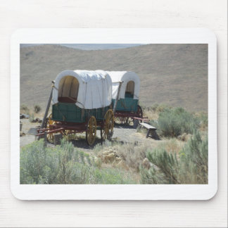 Covered Wagons Mouse Pad
