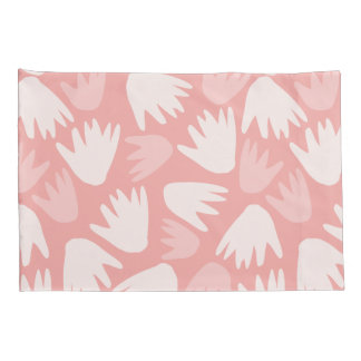 Covers Floral Cushion pink Pink