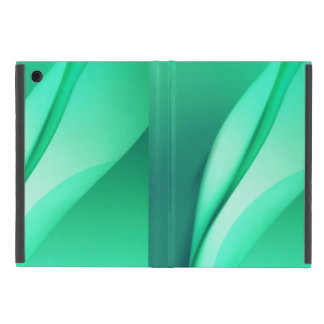 covers ipad mini Line Art Abstract Green Pattern