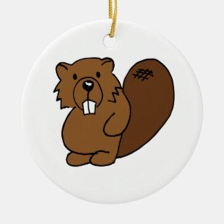 Covey Logic Colored Beaver Ornament