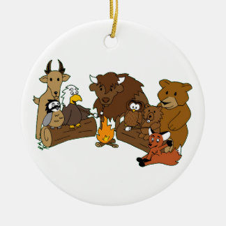 Covey Logic Wood Badge Ornament