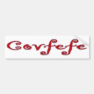Covfefe Bumper Sticker