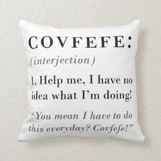 Covfefe Definition Cushion