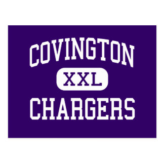 Covington - Chargers - High - Covington Tennessee Post Cards