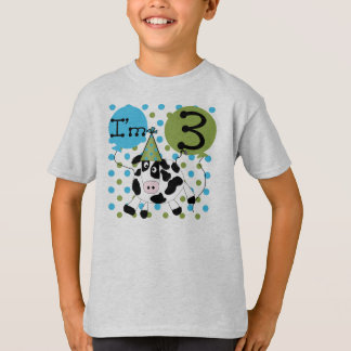 Cow 3rd Birthday T-Shirt