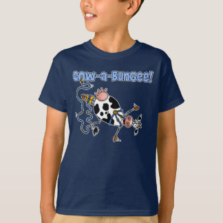 cow-a-bungee shirt