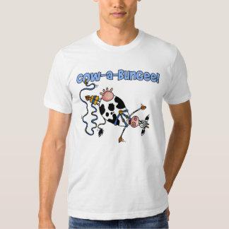 cow-a-bungee shirt