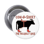Cow A Socky Badge
