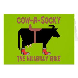 Cow A Socky Card
