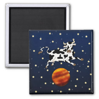 Cow Aims Higher, magnet Refrigerator Magnet