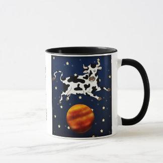 Cow Aims Higher, mug