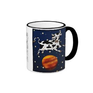 Cow Aims Higher mug