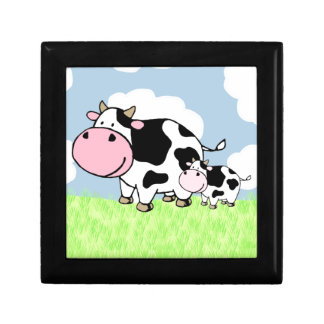 Cow and Baby Gift Box