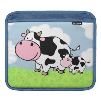 Cow and Baby iPad Sleeve
