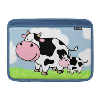 Cow and Baby MacBook Sleeve