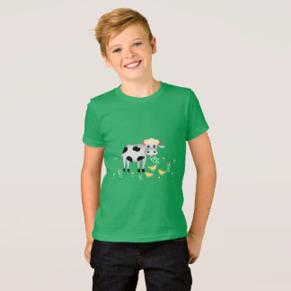 Cow and chicks T-Shirt