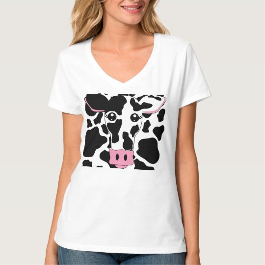 Cow and Cow Print T-Shirt