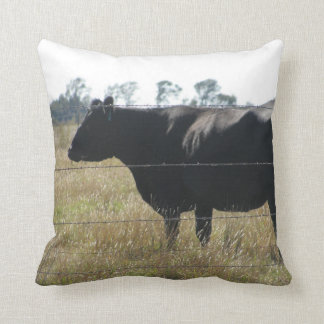 cow and squirrel pillow