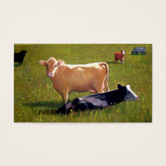 COW ARTWORK: BUSINESS CARD