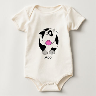 Cow Baby Bodysuit