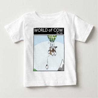 Cow Ballooning Baby T-Shirt