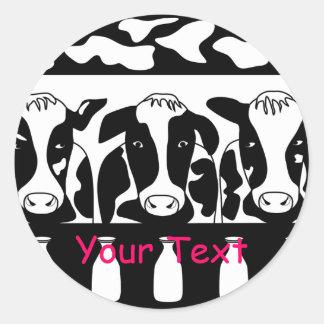 Cow Business Sticker
