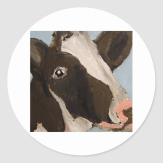 COW BY ERIC GINSBURG STICKER