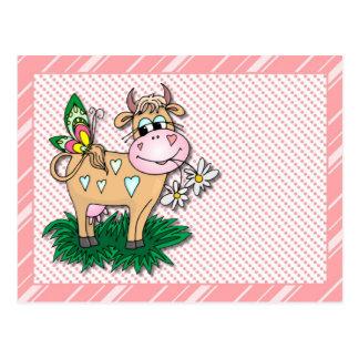cow card 2 postcard