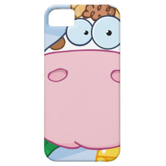 Cow Cartoon Character iPhone 5 Cases