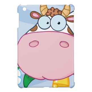 Cow Cartoon Character iPad Mini Cover