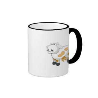 Cow cartoon coffee mugs