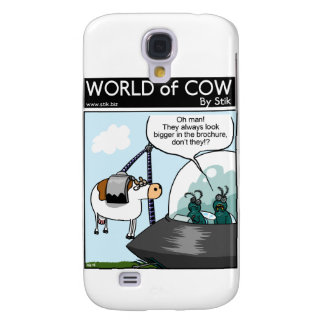 Cow Catalogues Galaxy S4 Case