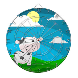 Cow Character Dartboard